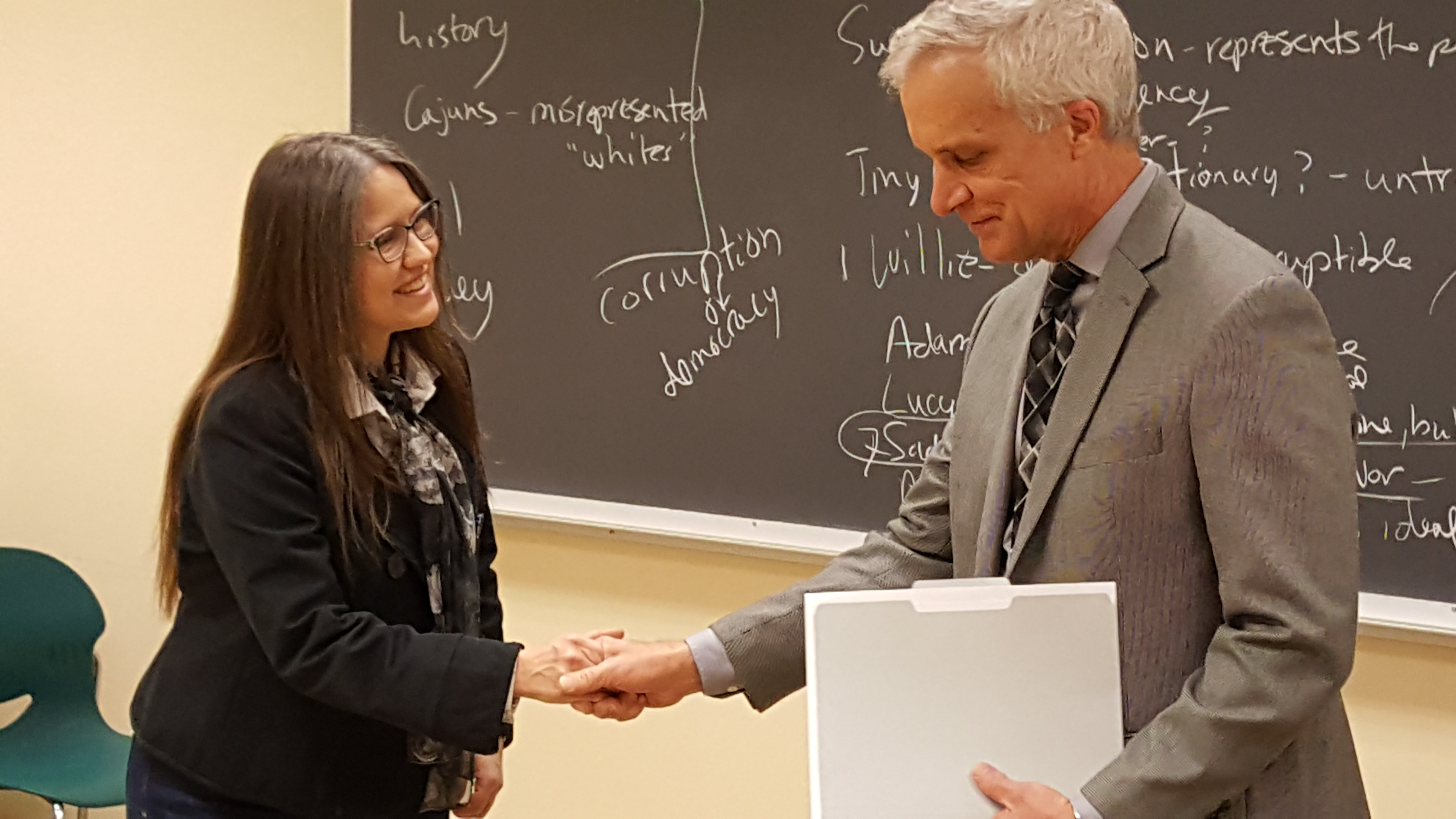 Crosby earns prestigious Arts & Sciences award for inspiring students