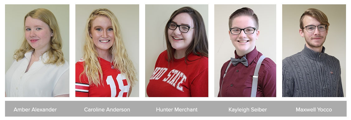 Five Marion campus students among those awarded scholarships to honor Ohio State sesquicentennial