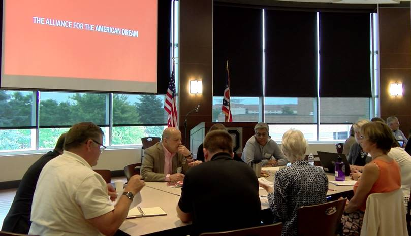 Ohio State launches community discussion to grow Marion's middle class